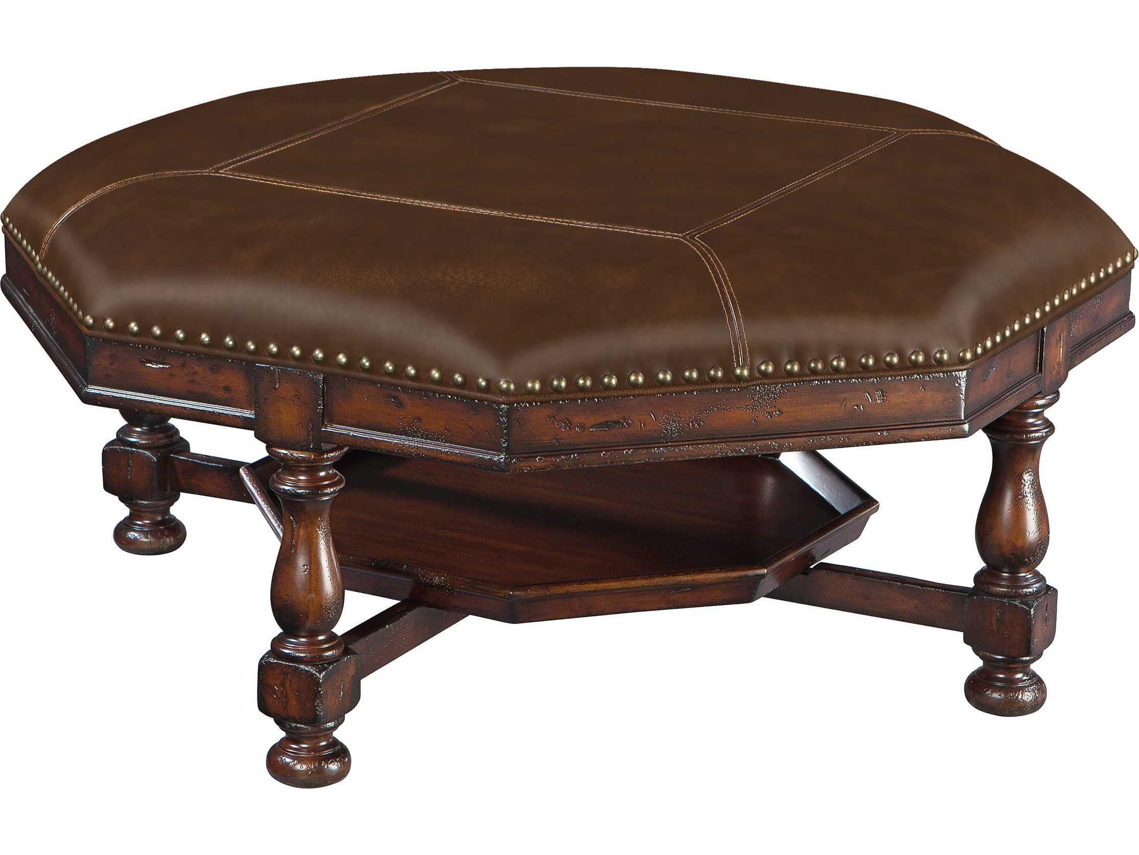 hekman havana antique coffee table ottoman hk81248. Black Bedroom Furniture Sets. Home Design Ideas