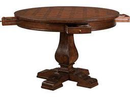 Hekman Havana Antique 44 Round Pub Game Table