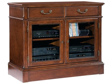Hekman Entertainment Stand in Weathered Cherry