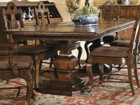Hekman Rue De Bac 94 x 44 Pedestal Dining Table