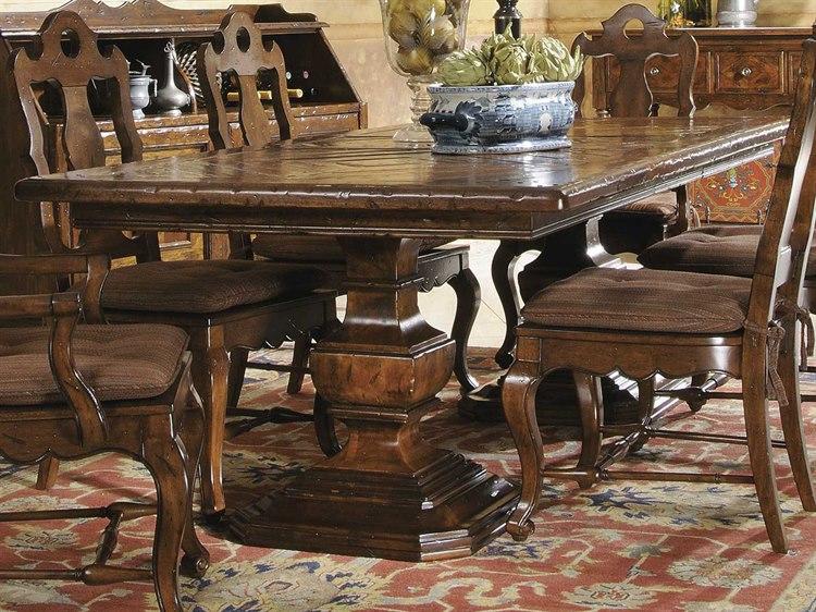 Hekman Rue De Bac 94 X 44 Pedestal Dining Table Hk87222