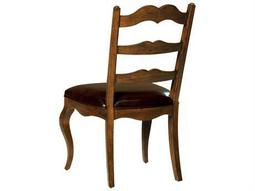 Hekman Rue De Bac Leather Seat Dining Side Chair
