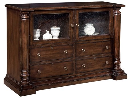 Hekman Charleston Place 56.75 x 19.5 Server China Cabinet