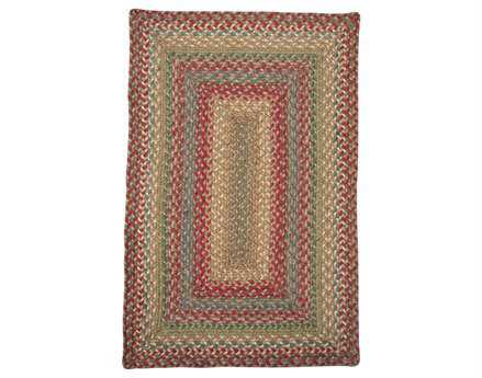Homespice Decor Jute Braided Azalea Red Area Rug