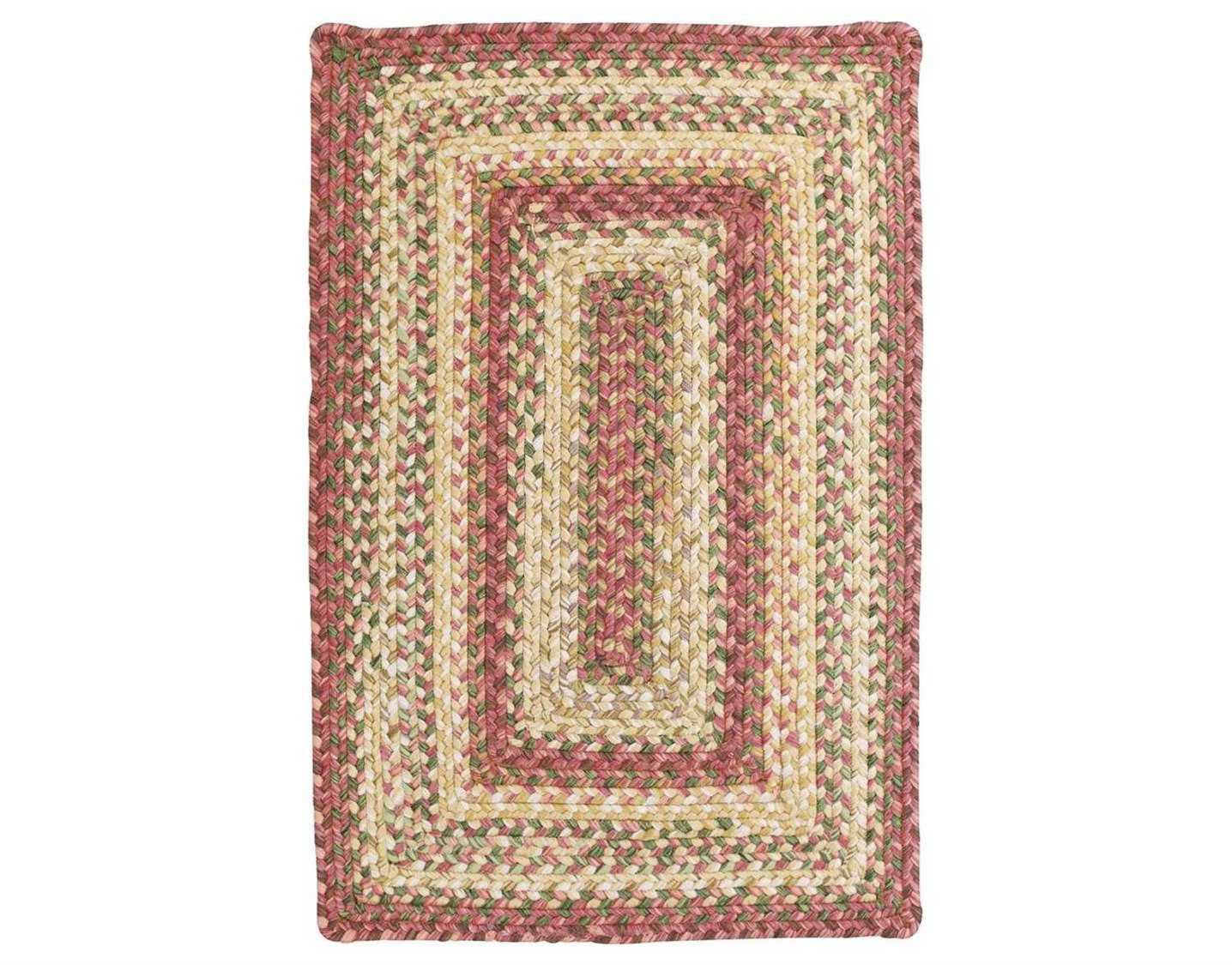 Homespice decor ultra durable braided rectangular red area for International home decor rugs