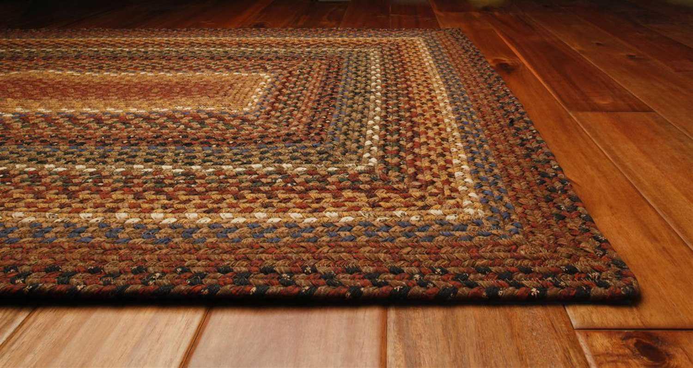 Homespice Decor Cotton Braided Rectangular Brown Area Rug  : HOBISCOTTI2zm from luxedecor.com size 1500 x 797 jpeg 150kB