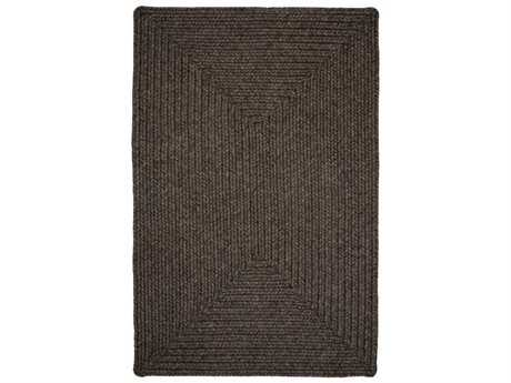 Homespice Decor Ultra Durable Braided Burnished Brown Area Rug