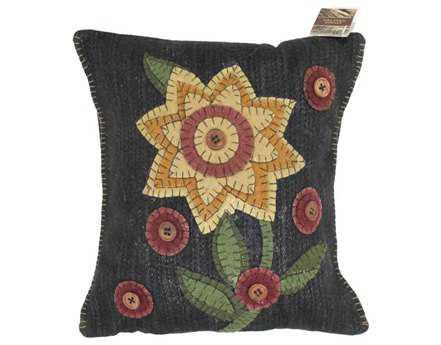 Homespice Decor Button Blooms Pillow