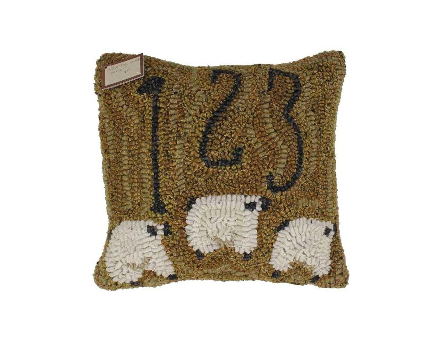 Homespice Decor Counting Sheep Pillow