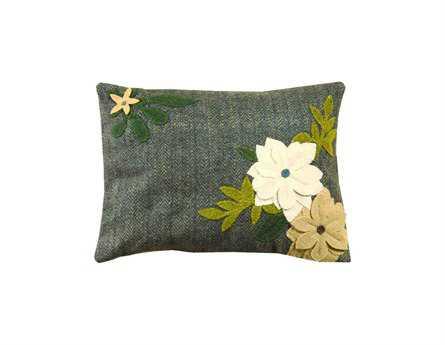 Homespice Decor Daffodil Pillow