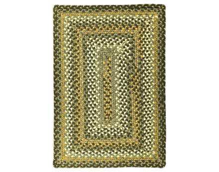 Homespice Decor Ultra Durable Braided Rectangular Grey & Gold Area Rug