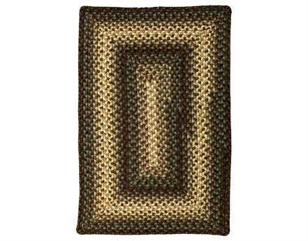 Homespice Decor Ultra Durable Braided Rectangular Beige Area Rug
