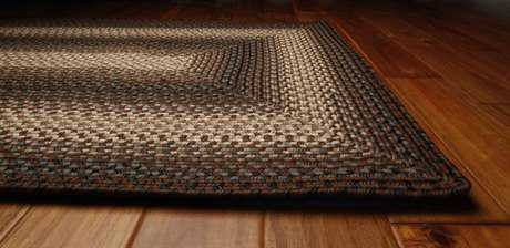 Homespice Decor Ultra Durable Braided Rectangular Beige Area Rug