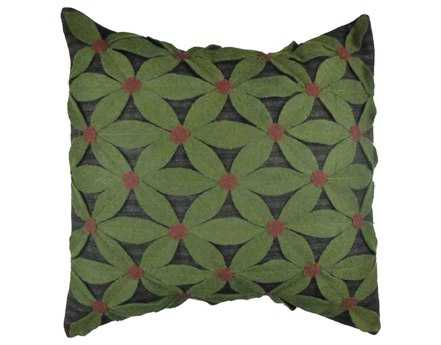 Homespice Decor Large Field Of Green Pillow