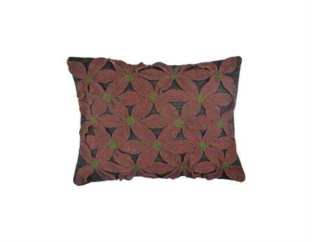 Homespice Decor Field Of Red Pillow