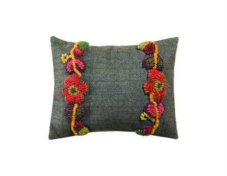Homespice Decor Floral Vines Pillow