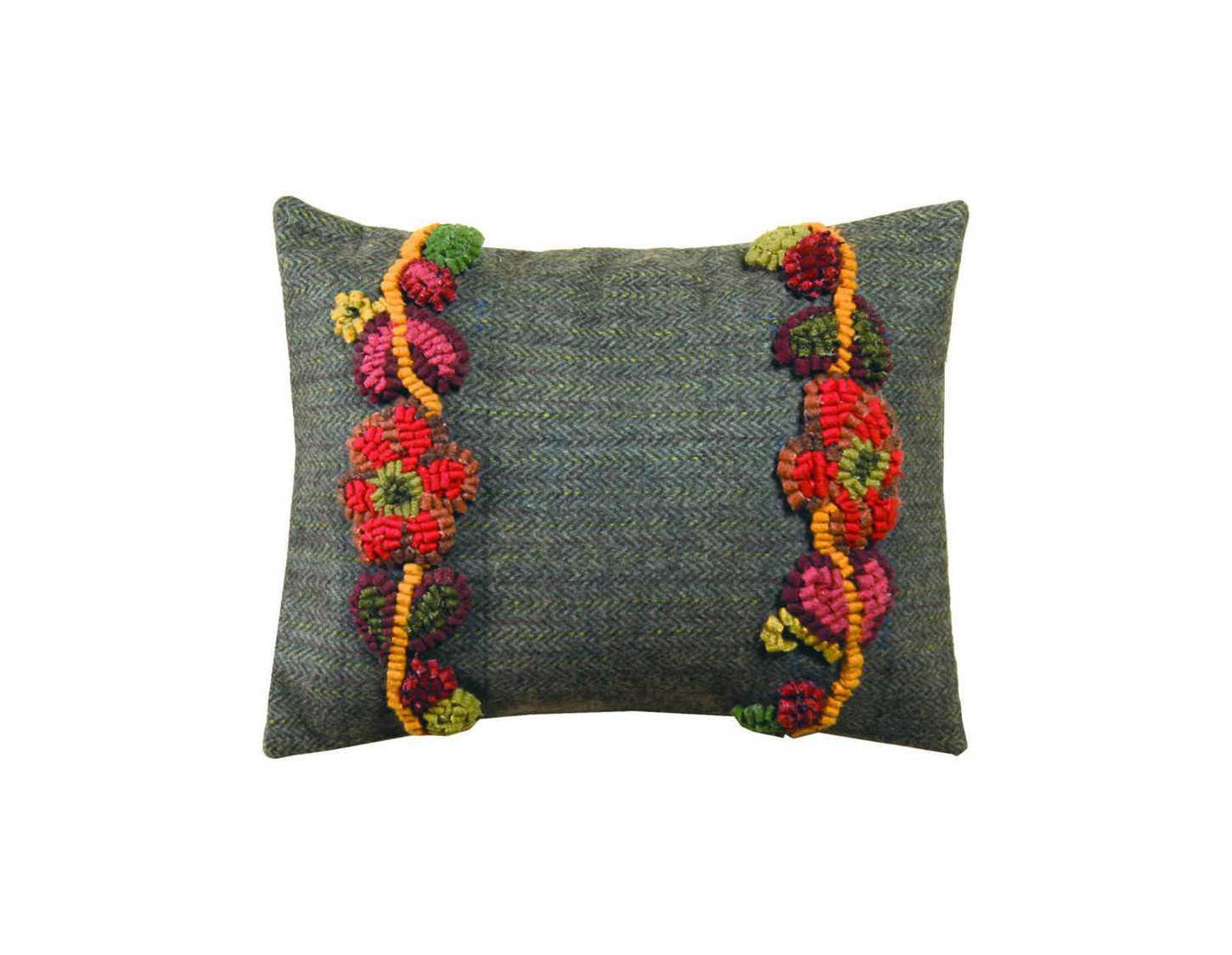 Homespice Decor Floral Vines Pillow Hofloralvinespillow