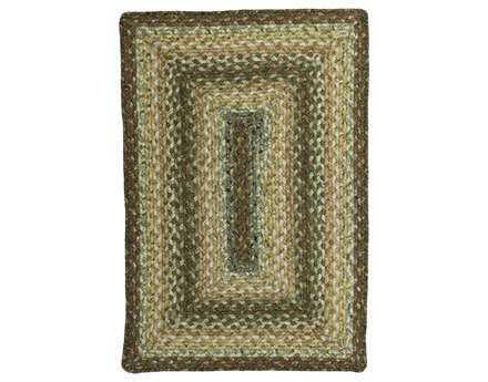 Homespice Decor Cotton Braided Rectangular Beige Area Rug