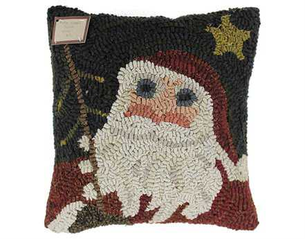 Homespice Decor Here Comes Santa Pillow
