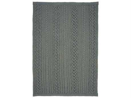 Homespice Decor Ultra Durable Laguna Braided Laguna Silver Area Rug