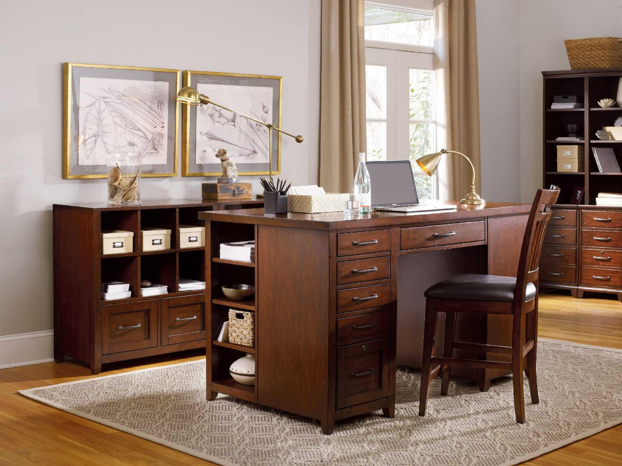 hooker furniture wendover home office set hoo103711306set