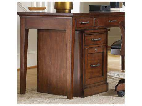 Hooker Furniture Wendover Distressed Cherry Mobile File Cabinet