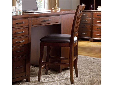 Hooker Furniture Wendover Bonded with Medium Wood Counter Height Chair