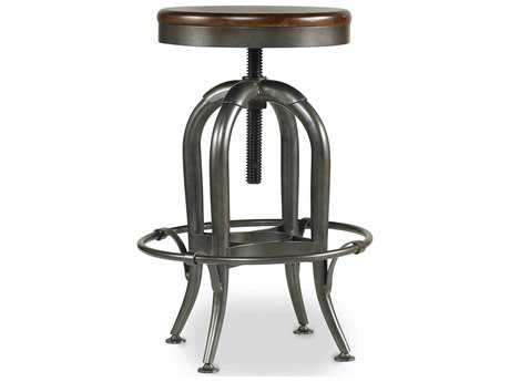 Hooker Furniture Wendover Distressed Cherry Adjustable Height Stool