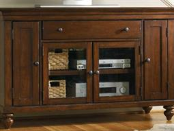 Wendover Distressed Cherry 56''L x 21''W Rectangular Entertainment Console