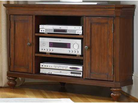 Hooker Furniture Wendover Distressed Cherry 48''L x 22''W Rectangular Entertainment Console