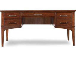 Wendover Distressed Cherry 64''L x 32''W Rectangular Writing Desk