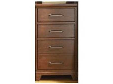 Hooker Furniture Wendover Distressed Cherry Drawer Unit Left / Right Bookcase
