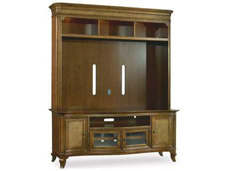 Hooker Furniture Windward Mellow Light Brown 73''L x 24''W Entertainment Center