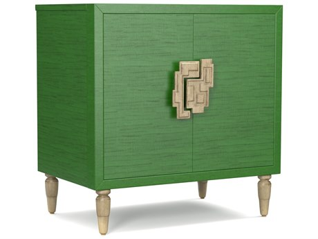 Hooker Furniture Cynthia Rowley Green Sheridan Two-Door Accent Chest