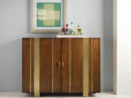 Hooker Furniture Cynthia Rowley Medium Wood Skippy Bar Cabinet