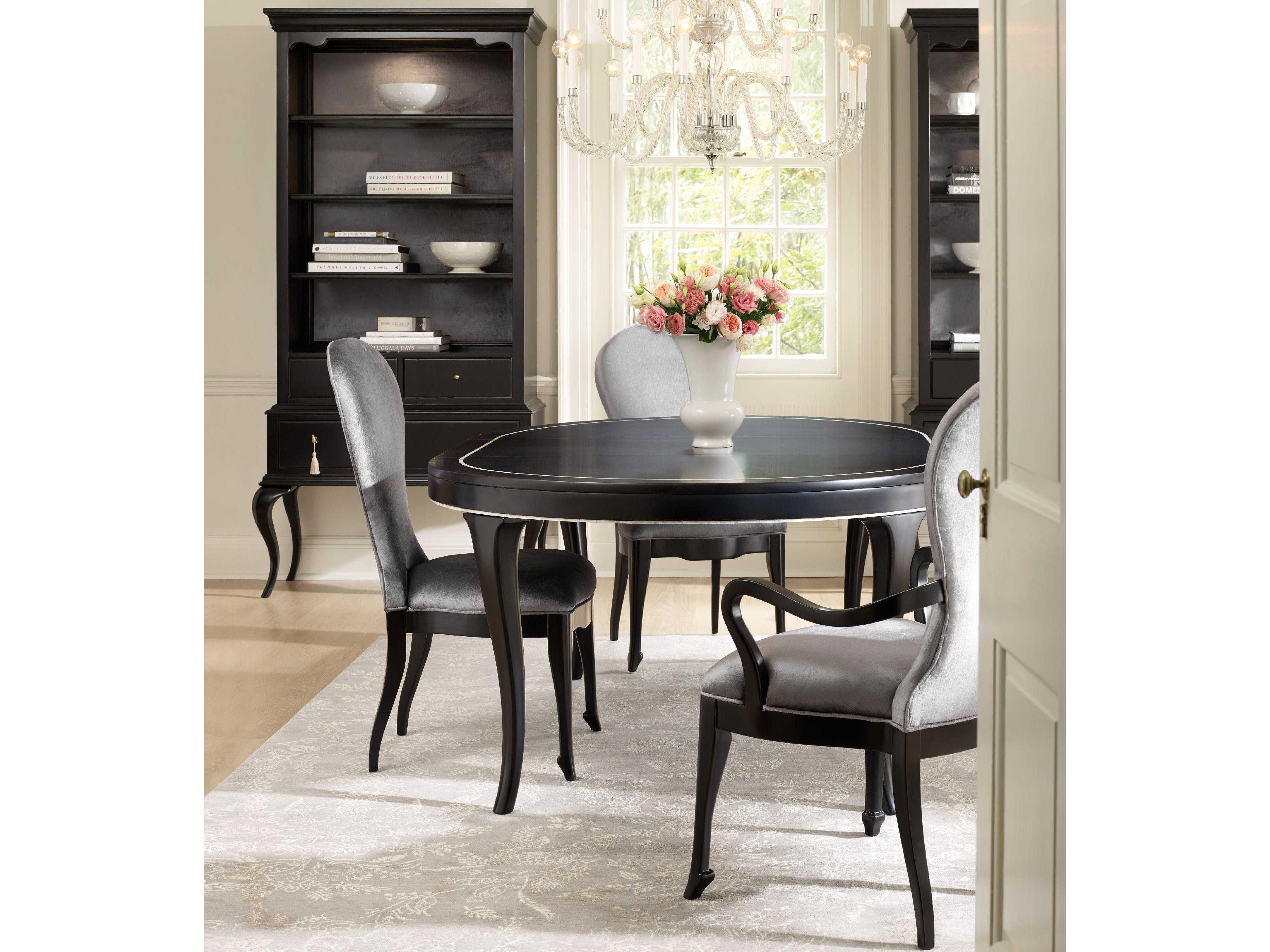 Hooker Furniture Cynthia Rowley Black 54 74 L X 54 W