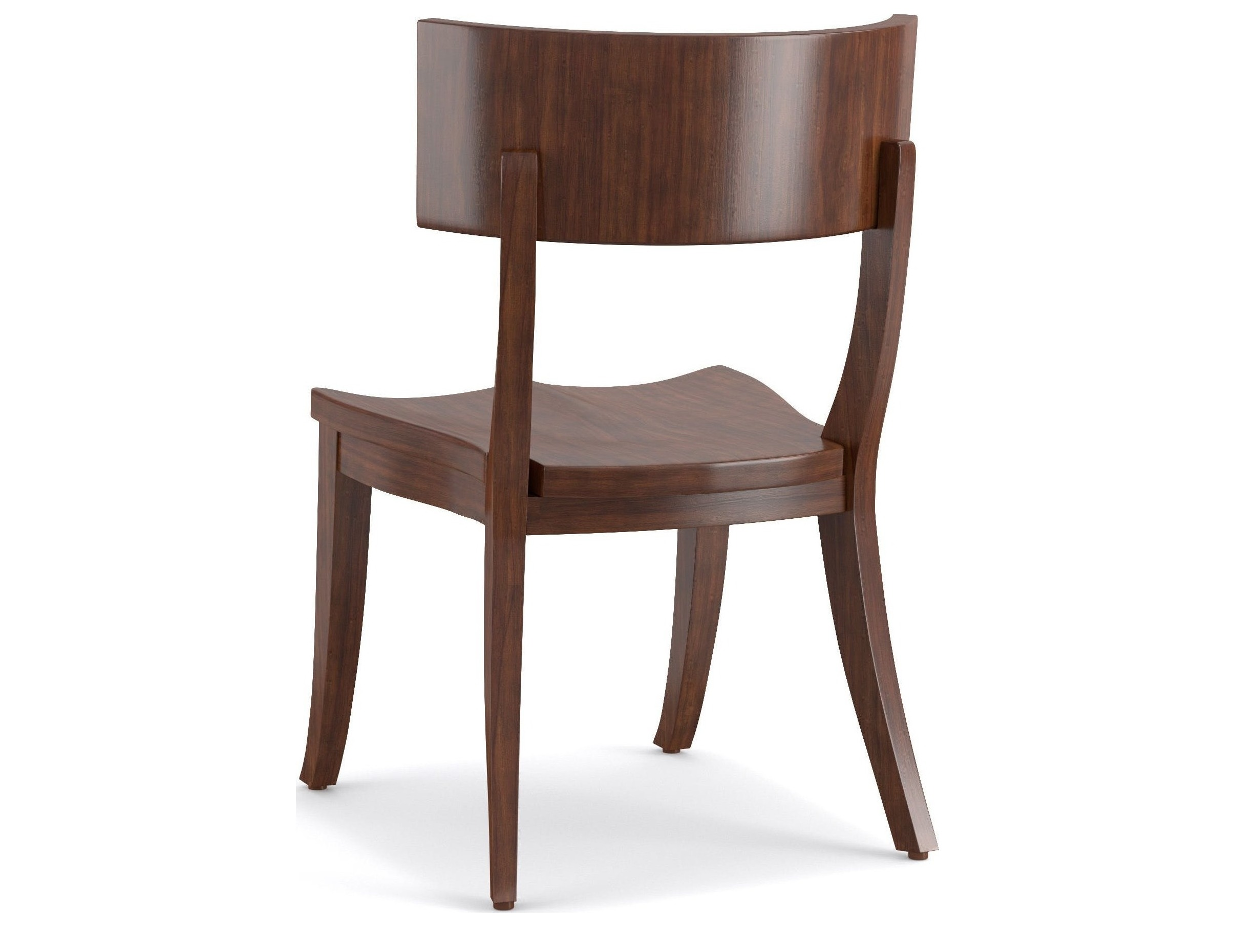 Furniture Cynthia Rowley Mozambique Scoop Wood Klismos Dining Side Chair Sold In 2