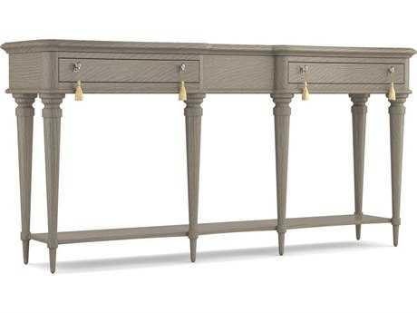 Hooker Furniture Cynthia Rowley Gray 70''L x 16''W Rectangular Lulu Console Table
