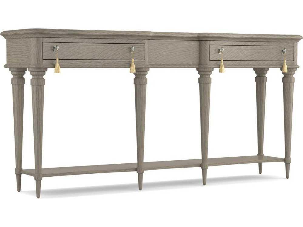 Hooker furniture cynthia rowley gray 70 39 39 l x 16 39 39 w for Sofa table 70