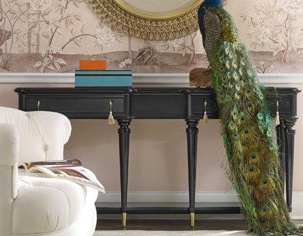 Hooker Furniture Cynthia Rowley Black 70''L x 16''W Rectangular Lulu Console Table