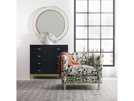 Hooker Furniture Cynthia Rowley Double Dresser with Wall Mirror Set