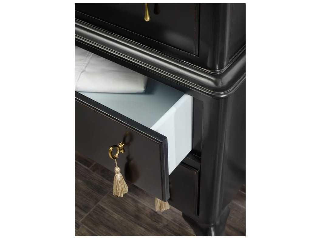 Hooker Furniture Cynthia Rowley Black 38 W X 19 D Twin