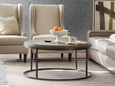 Hooker Furniture Belmont Gray 42'' Wide Round Cocktail Table