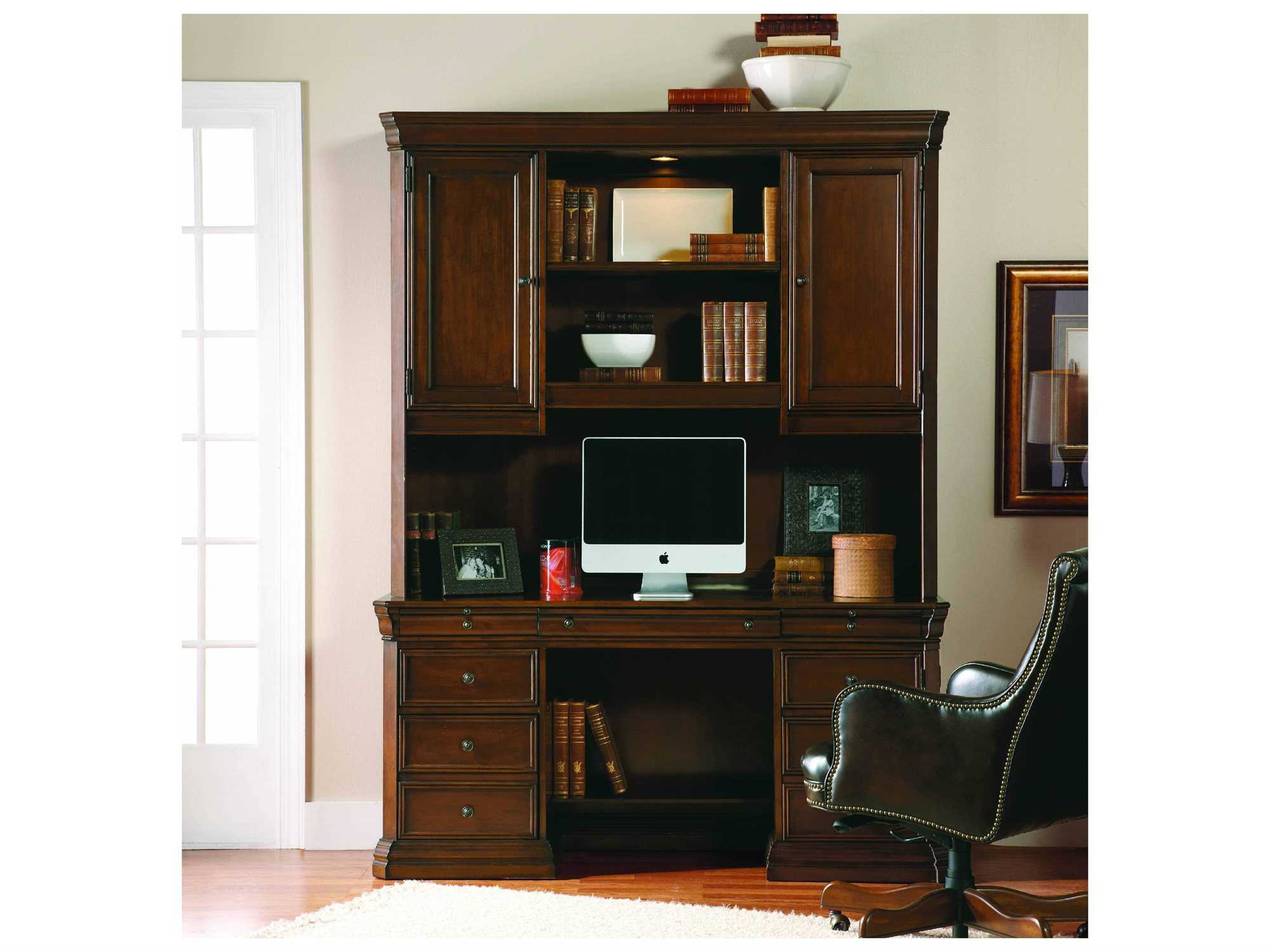 hooker furniture cherry creek home office set hoo25810464set