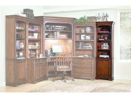 Hooker Furniture Brookhaven Distressed Medium Cherry Right Bookcase