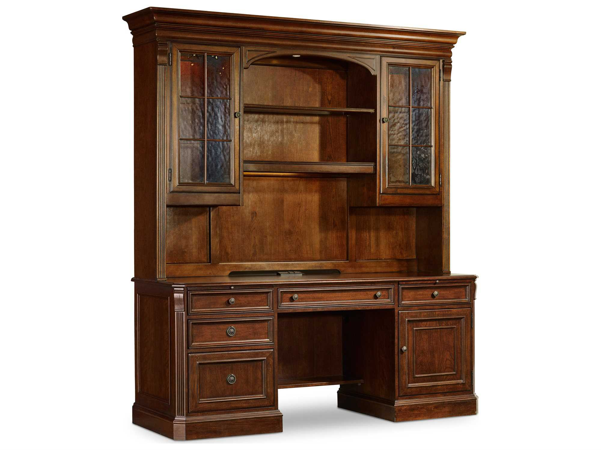 hooker furniture brookhaven home office set hoo28110564set