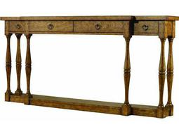 Hooker Furniture Sanctuary Antique Driftwood 72''L x 12''W Rectangular Console Table