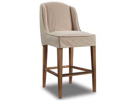 Hooker Furniture Hatteras White Slip Cover Bar Stool