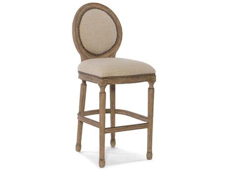 Hooker Furniture Lambert Light Wood with Samantha Taupe Barstool