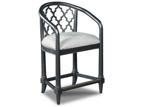 Hooker Furniture Cosmopolitan Black Counter Stool